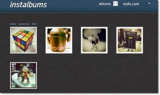 Crear álbumes de fotos de Instagram nunca fue tan simple con Instalbums