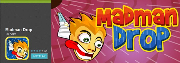 Madman Drop, un juego totalmente de locos