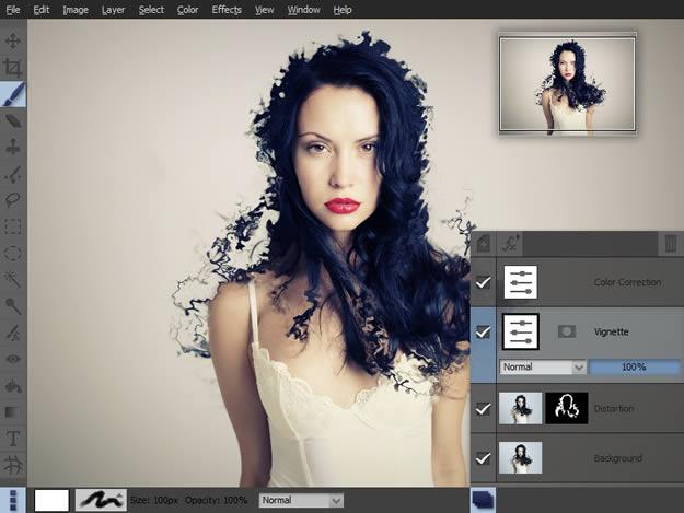 Pixeluvo, edición y manipulación de imágenes y fotografías