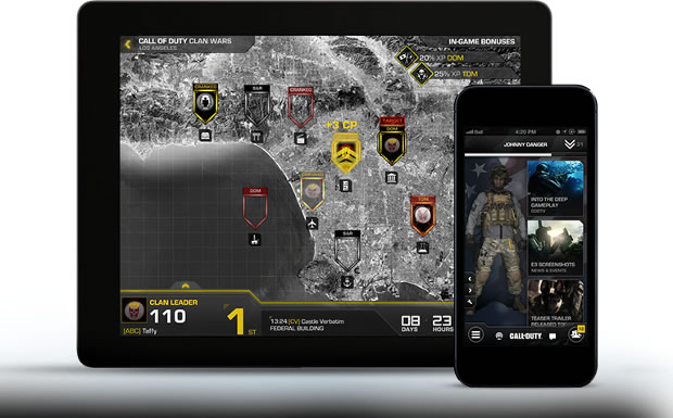 Call of Duty Ghosts y Assassin's Creed 4 ya tienen su App para Android e iOS