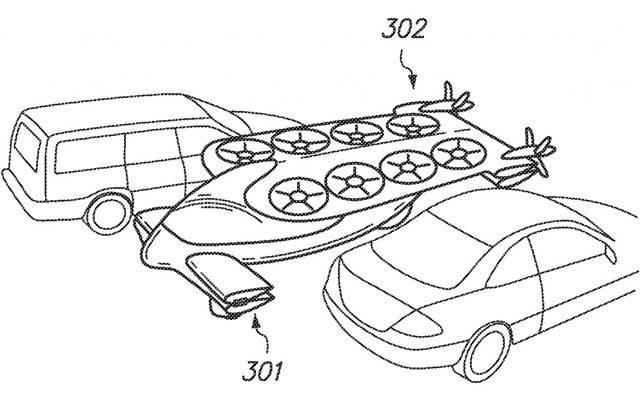 Google estaría desarrollando un coche volador