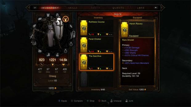 Diablo 3: Reaper of Souls, con expansión y paquete completo para la PS4