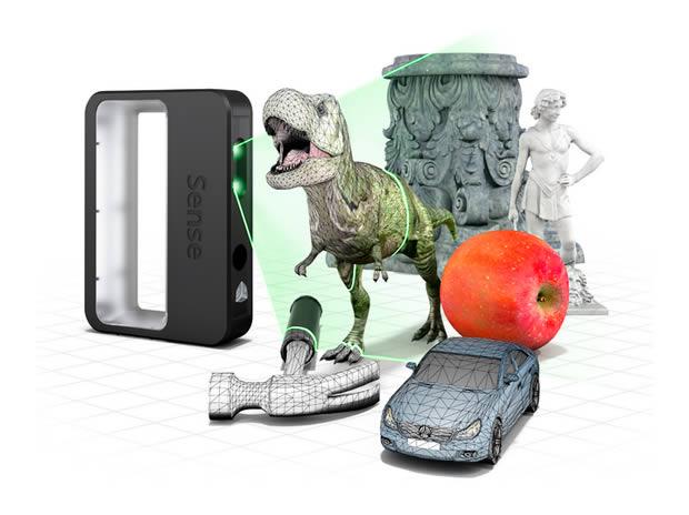 Escáner 3D portatil y barato que cabe en la palma de la mano