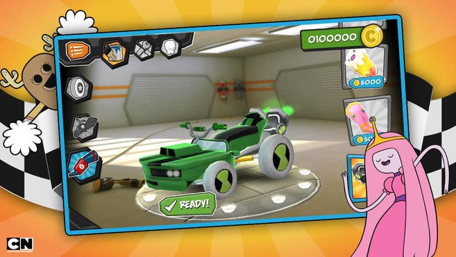 Formula Cartoon All-Stars – un juego de carreras de coches