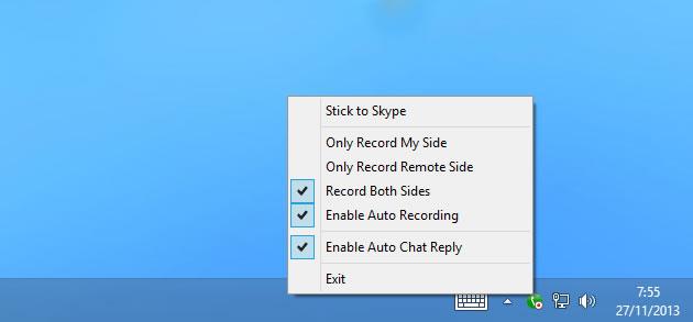 grabar videollamadas de Skype