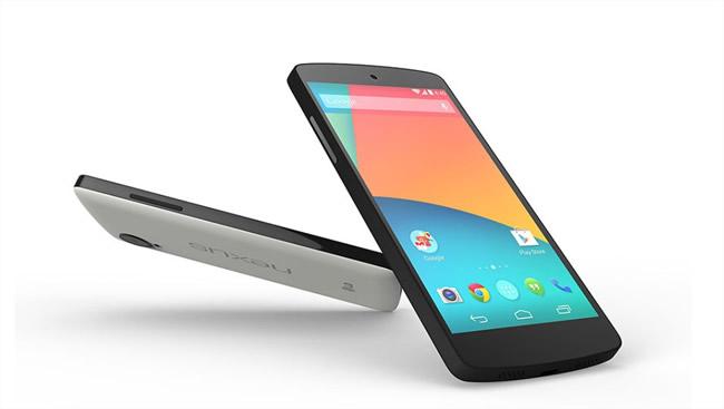 Nexus 5 característica y especificaciones - INFOGRAFIA