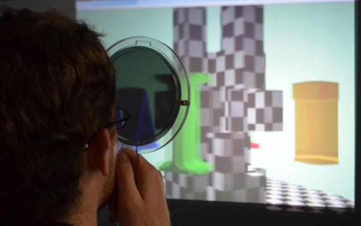 2x3D - una tecnología capaz de mostrar imágenes en 2D y 3D al mismo tiempo