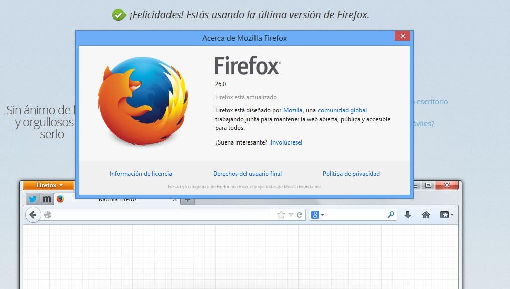 Firefox 26 ahora bloquea la ejecución automática de plugins