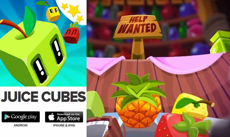 Juice Cube – un juego colorido lleno de frutas tropicales