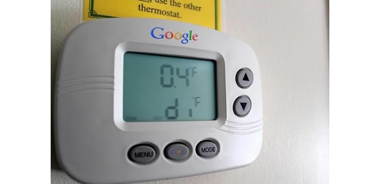 EnergySense, el termostato inteligente de Google