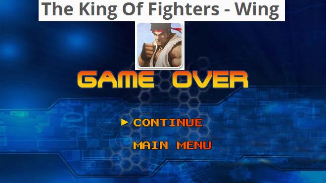 The King Of Fighters Wing, juego online de este clásico juego de peleas