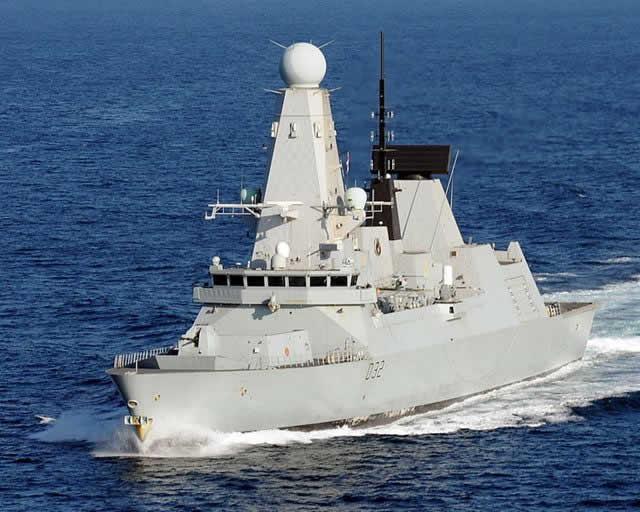Type 45 de la Marina Britanica