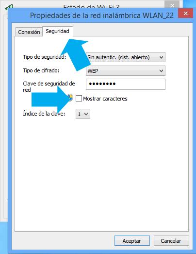 Como ver las claves WiFi de Windows 8.1 sin programa