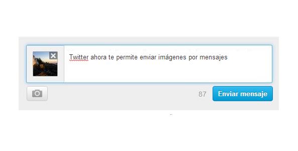 Twitter – como enviar una imagen de forma privada por mensaje directo