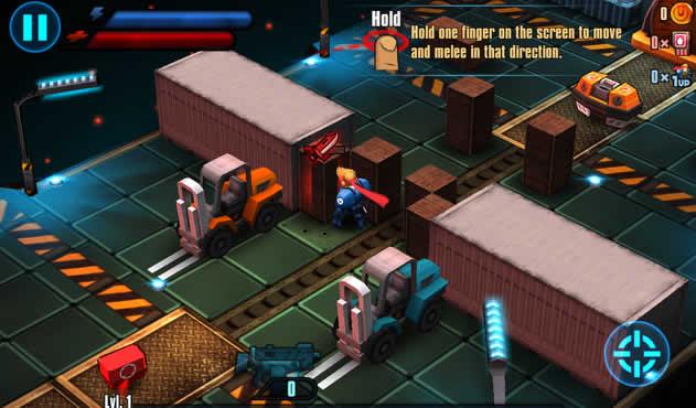 Meltdown - juego para ios y android