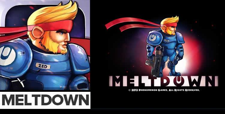 Meltdown – ayuda a un soldado espacial a enfrentarse a un ejercito de robots