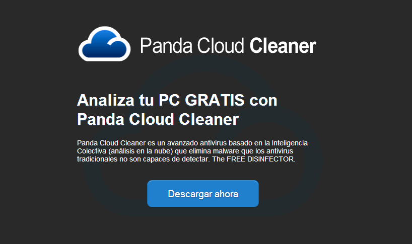 Panda Cloud Cleaner mantén limpio tu PC de virus con la tecnología de Panda