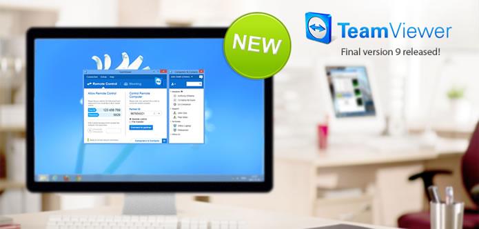 TeamViewer llega a la versión 9, mira los cambios principales y funciones añadidas