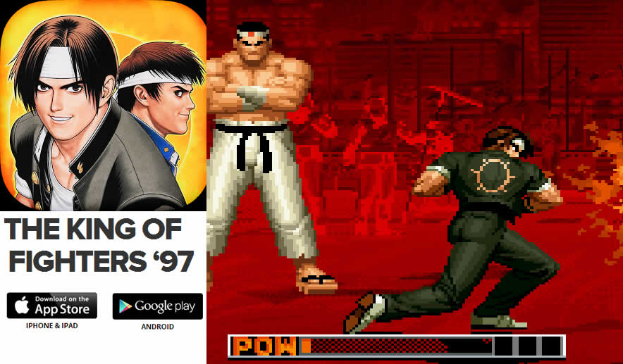 The King of Fighters 97 – un clásico de los juegos ahora para iOS y Android