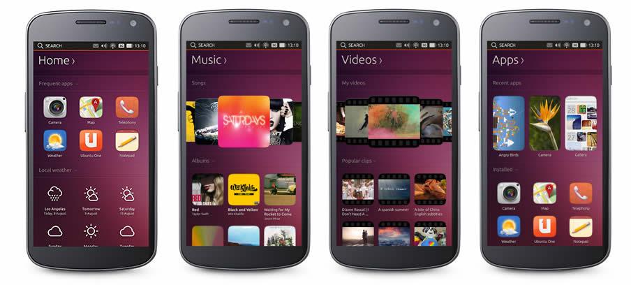Ubuntu Touch OS estará en smartphones de gama alta en el 2014