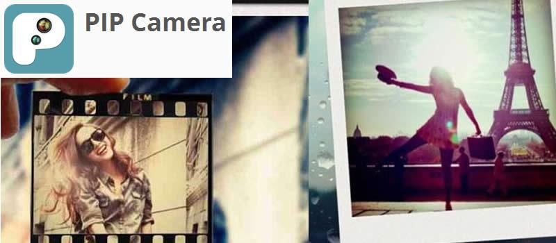 PIP Camera, aplicación Android para crear efectos en tus fotos
