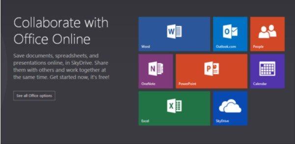 Office Online sería el nuevo nombre de Office Web Apps
