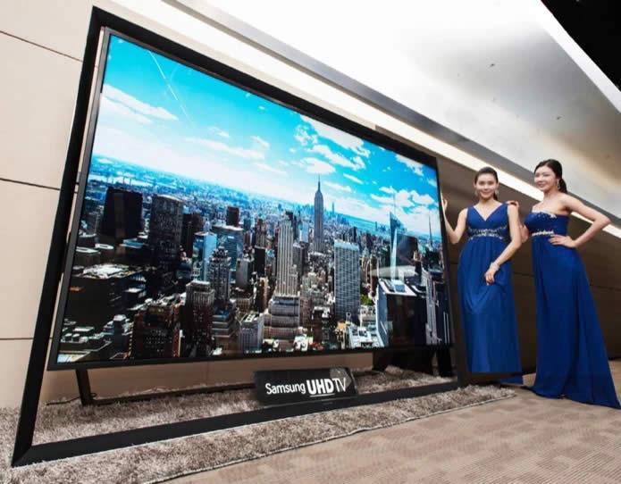 TV 4K de 110 pulgadas de Samsung comienza a venderse por US$ 150 mil