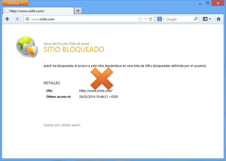 Como bloquear páginas de Internet utilizando Avast – ACTUALIZADO
