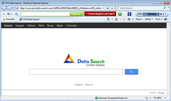 Como eliminar Delta Search y Delta Toolbar de Windows, Firefox y Chrome