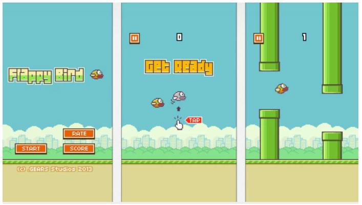 Flappy Bird ha sido retirado de Google Play por su creador