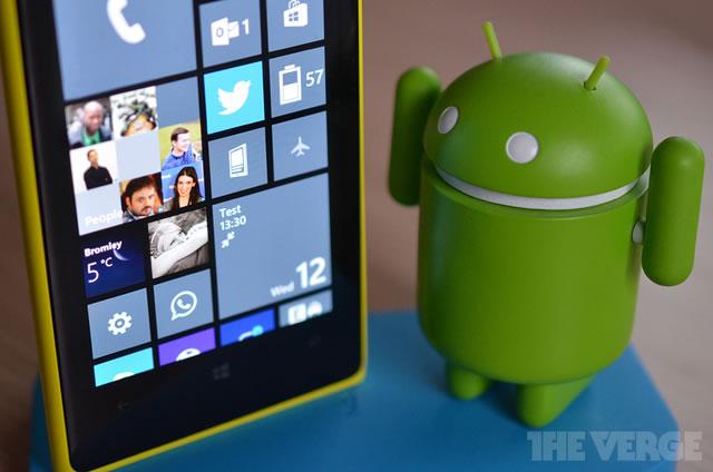 Microsoft puede volver las aplicaciones Android compatible con Windows Phone