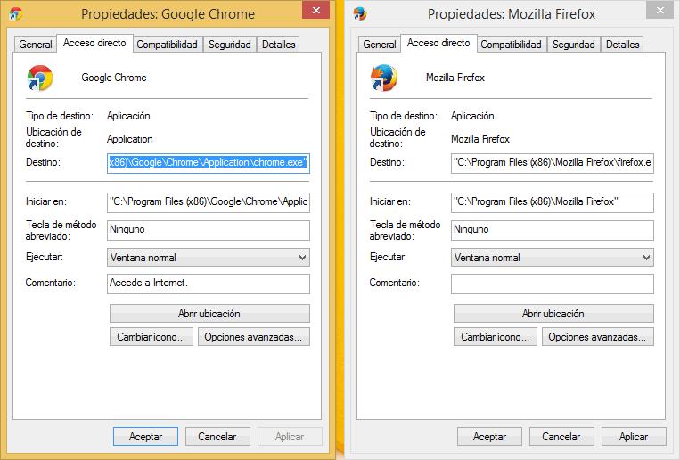 Como cambiar la página de inicio de Firefox y Chrome cuando todo lo demás falla