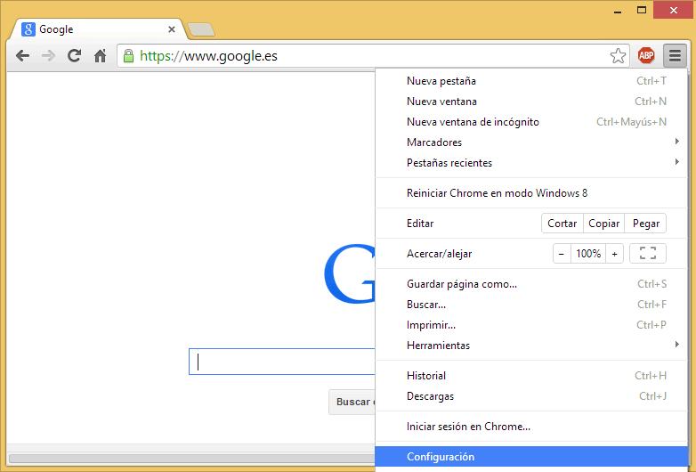 Como eliminar una extensión en Chrome