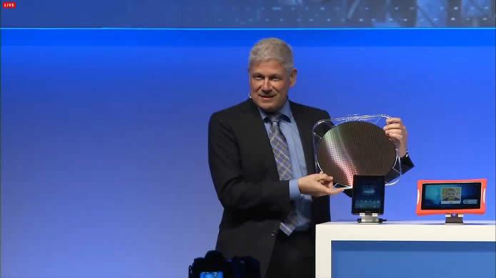 Intel lanza procesadores moviles Atom de 64 bits en la MWC 2014