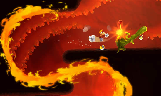 Rayman Fiesta Run para Windows Phone 8