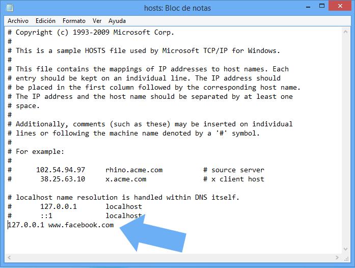 como bloquear una pagina de internet