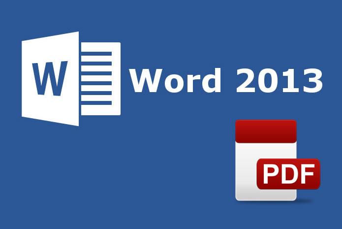 Cómo crear archivos PDF utilizando Word