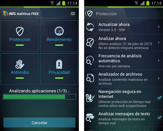 Mucho mas que un simple antivirus para Android