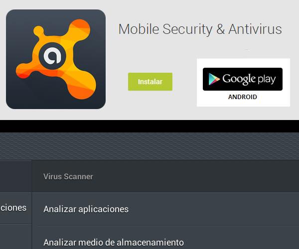 Antivirus gratis para Android, Avast Mobile Security & Antivirus