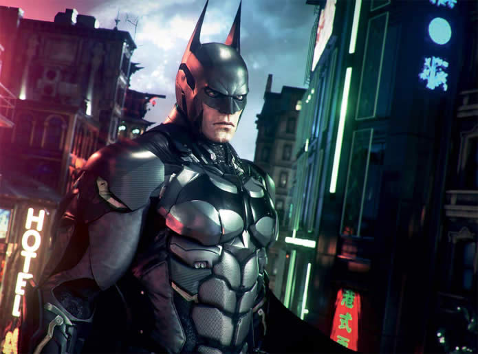 Batman Arkham Knight armadura