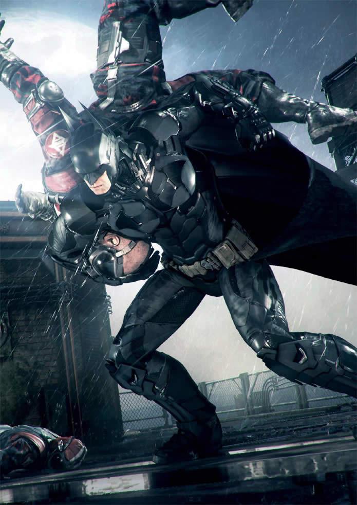 Batman Arkham Knight, nuevas imágenes de Gotham City, yde los malos