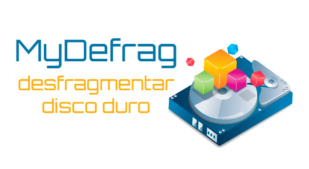 Desfragmentador de disco duro para Windows, MyDefrag