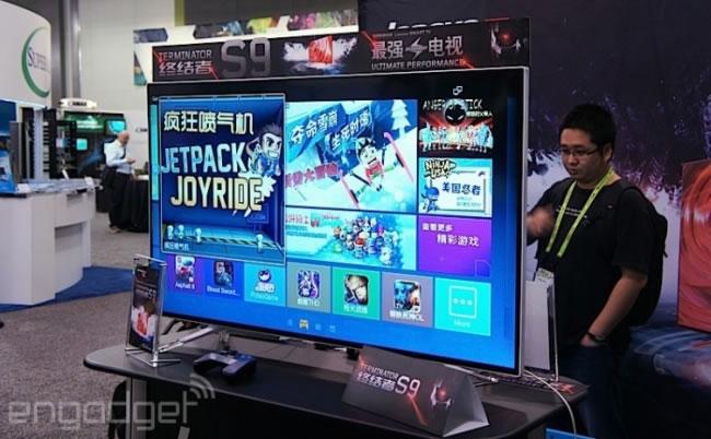 Lenovo presenta su TV con procesador Tegra K1 y SmartCard