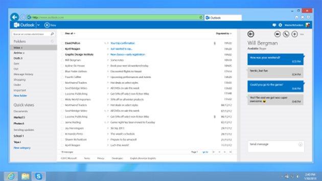 Skype ya tiene versión para Outlook.com