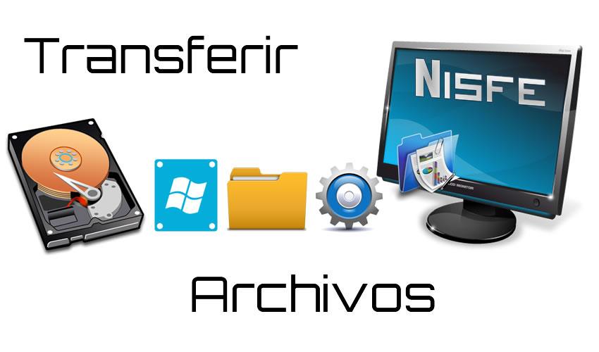 Transferir archivos