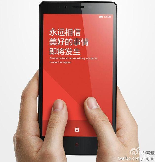 Xiaomi Redmi Note, el nuevo Phablet de Xiami