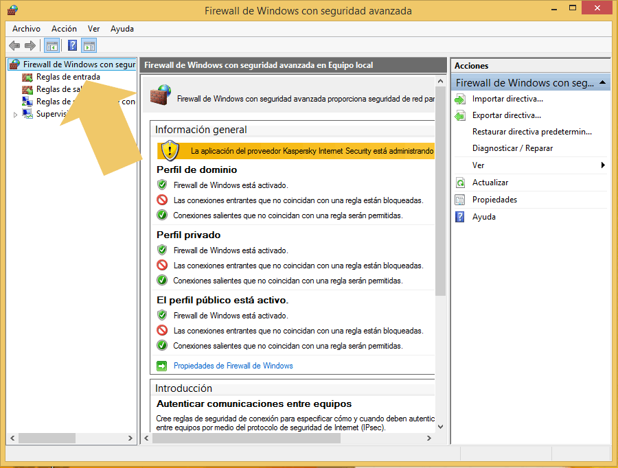 how to block a program in firewall win 10