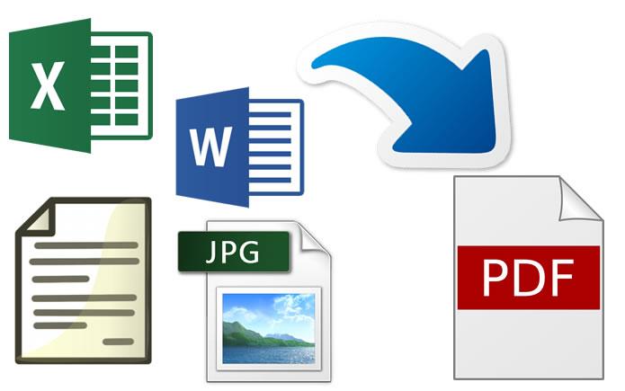 Cómo convertir imágenes y documentos a PDF sin instalar ningún programa