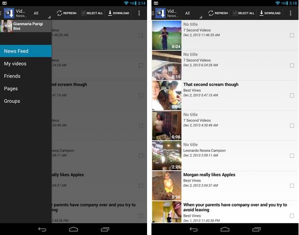 Descargar-videos-Facebook-Smartphone-MyVideoDownloader-for-Facebook