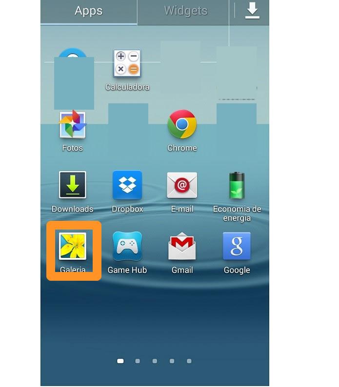 Acceder al vídeo en galeria de imágenes de Android